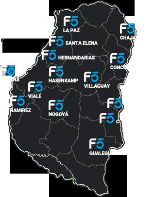 mapa F5